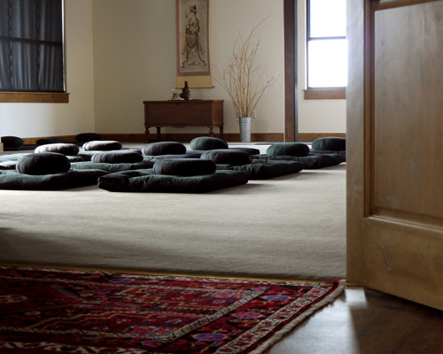 Bozeman Dharma Center Meditation Room